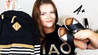 👚👟 Fashion Try On Plus Size HAUL: BACK TO SCHOOL 2018 🎒 | Topbatohy.cz, Lindex a čínské e-shopy 👗