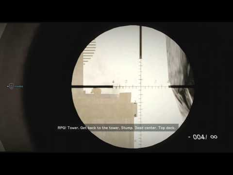 Medal Of Honor Warfighter Sniper Complete Gameplay Walkthrough Xbox 360 Playstation 3 HD