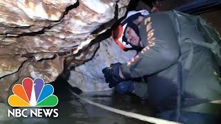 Inside The Flooded Thai Cave Complex Where Kids Are Trapped | NBC News