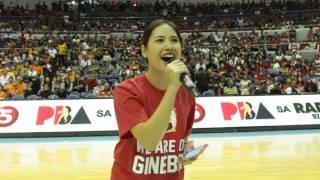 Ginebra Girl at Smart Araneta
