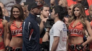 Download Mayweather vs. Pacquiao Weigh-Ins: Floyd Mayweather vs. Manny Pacquiao Mp3 and Videos
