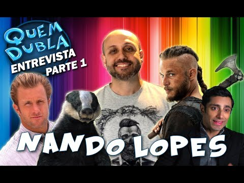 Quem Dubla Entrevista Fernando Lopes Parte 1