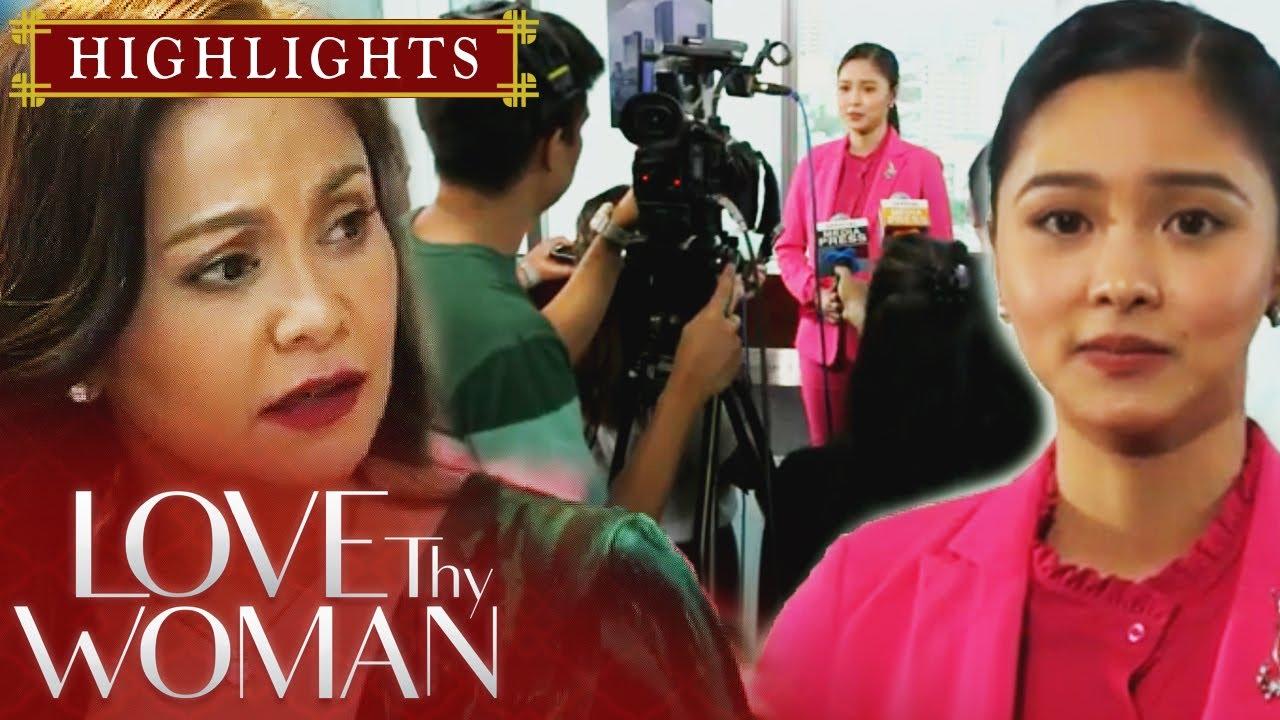 Download Lucy, nainis sa biglaang presscon ni Jia | Love Thy Woman