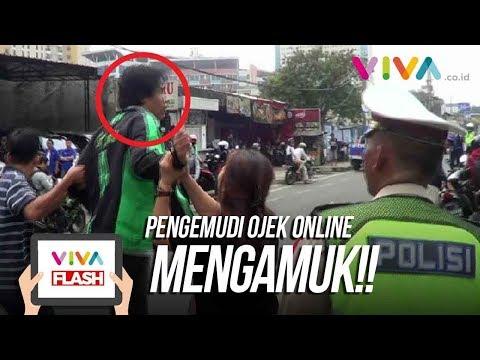 Gara-gara Ditilang, Pengemudi Ojek Online Ngamuk! Mp3