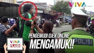 Download Video Gara-gara Ditilang, Pengemudi Ojek Online Ngamuk! MP3 3GP MP4
