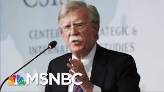 NYT: John Bolton Was Worried Trump Was Doing Favors For Autocratic Leaders | The 11th Hour | MSNBC
