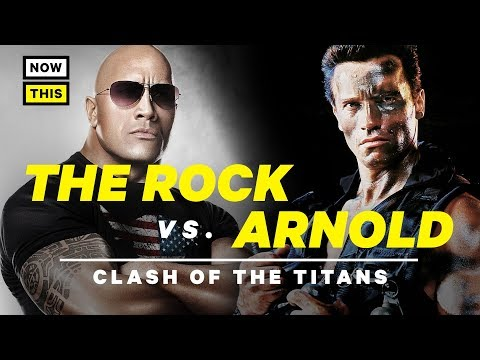 The Rock vs. Arnold: Clash of the Titans | NowThis Nerd