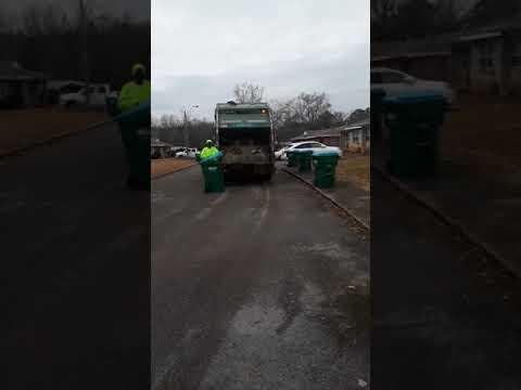 Waste pro rear loader pt 2