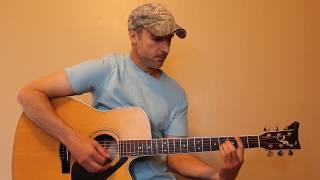 Scarecrow In The Garden - Chris Stapleton - Easy Guitar Lesson | Tutorial