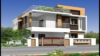 Modern Double Floor House 1200 Sft for 12 Lakh | Elevation | Design | Interiors