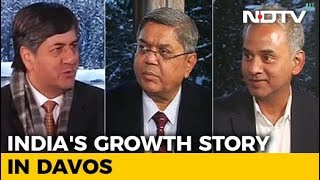 India's Growth Story In Davos: Economy Back On The Track?