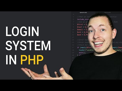How To Create A Complete Login System In PHP | Procedural MySQLi | 2018 PHP Tutorial | mmtuts