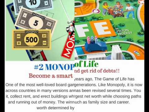 Top 5 Financial Board Games 2016-17