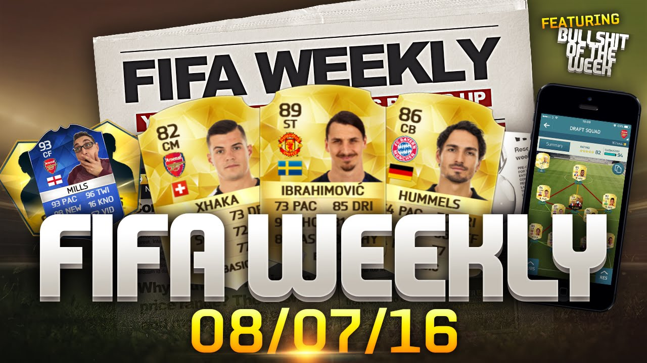FIFA Weekly 08/07/16 - FIFA 16 Transfers, FIFA 17 Set ...