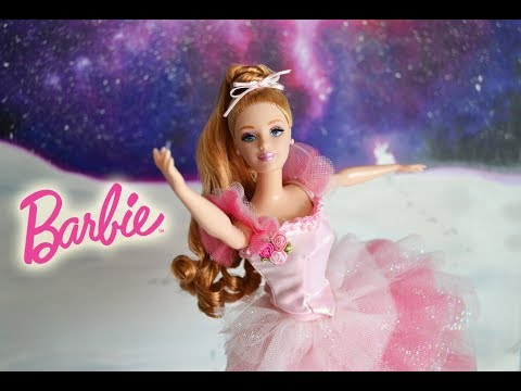 Barbie Collector Flower Ballerine from the Nutcracker Ballet doll review FR