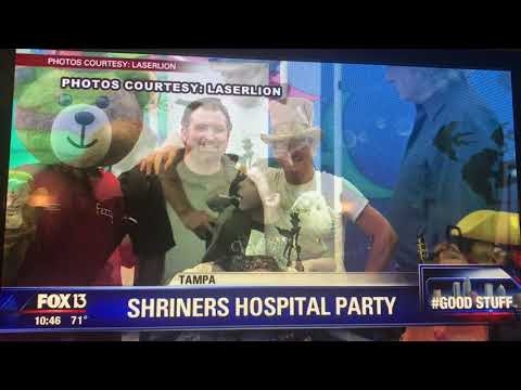Market Technologies Shriners Party Featured on Fox13 GoodStuff