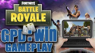 Fortnite Battle Royale - Best Games You Can Play On The GPD : WIN