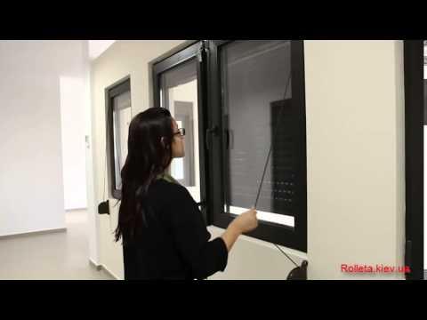 видео: Защитная ролета с шнуровым подъемом