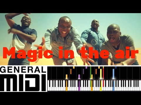 Magic In The Air / Magic System Feat. Chawki (instrumental Version & Tutorial)