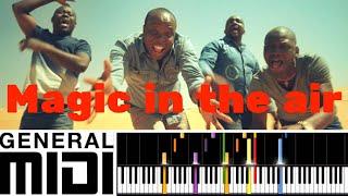 Magic in the air / Magic System feat. Chawki (instrumental version & tutorial)