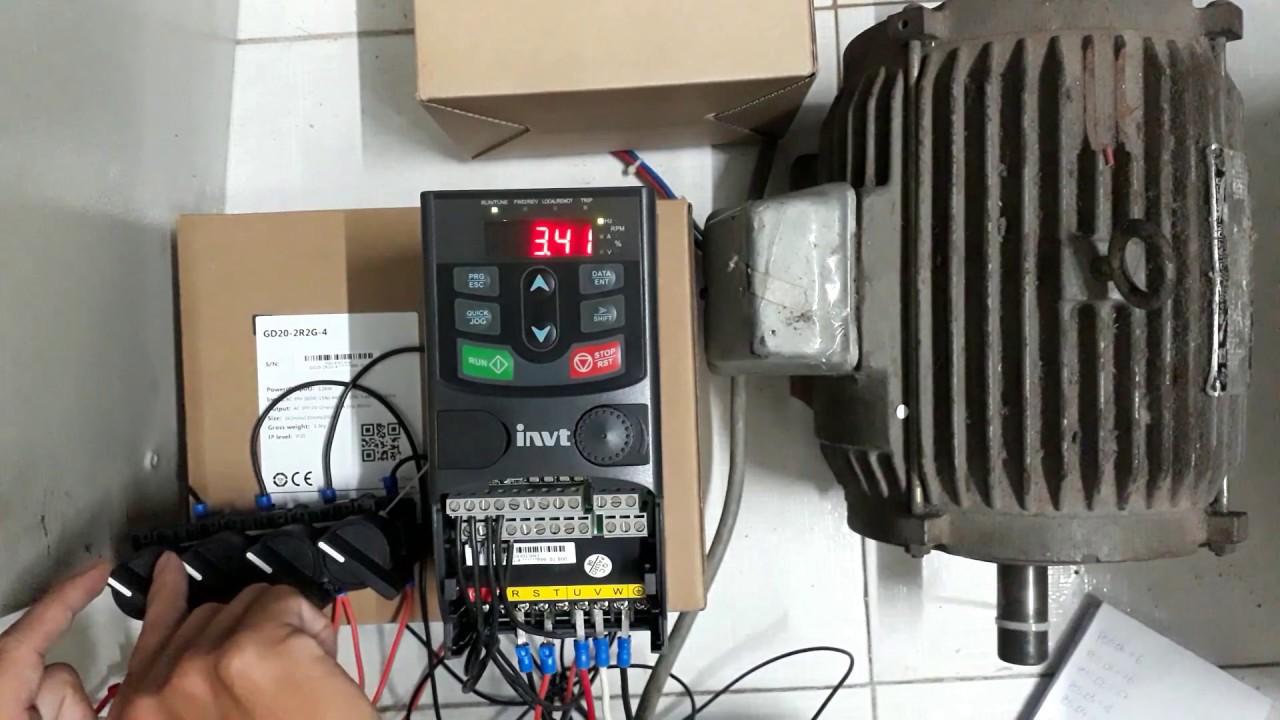 Sửa biến tần INVT - Nhà phân phối màn hình HMI Việt Nam