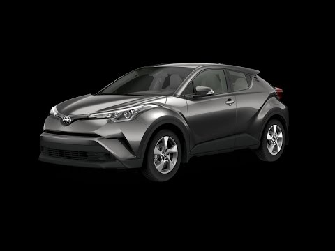 2018 Toyota C-HR XLE Premium Package in Magnetic Grey Metallic