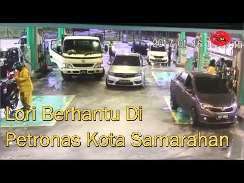 Lori Berhantu di Petronas Kota Samarahan