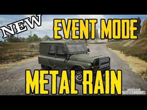 NEW EVENT MODE || METAL RAIN || FLARE  ARMORED UAZ || 8 man Squads