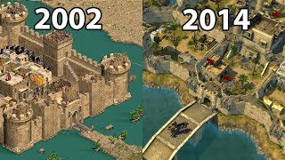 Stronghold Crusader HD vs Stronghold Crusader 2