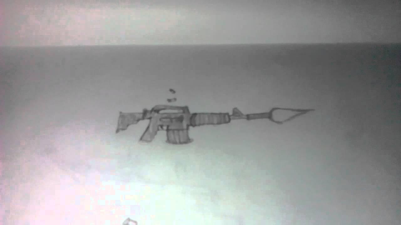 M4 A1ak 47 Ve Süpriz Silah çizimi Youtube