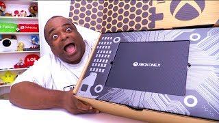LONGEST XBOX ONE X UNBOXING! [Reviewer Edition]