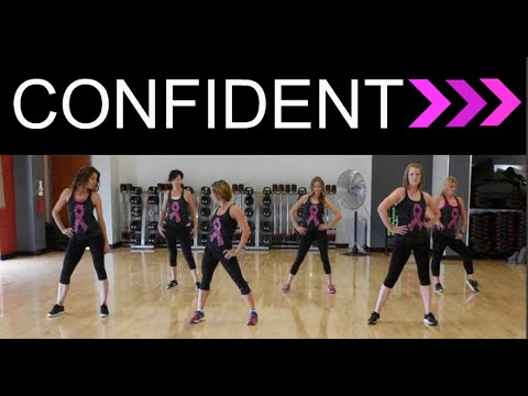 """Confident"" by Demi Lovato.  SHiNE DANCE FITNESS"