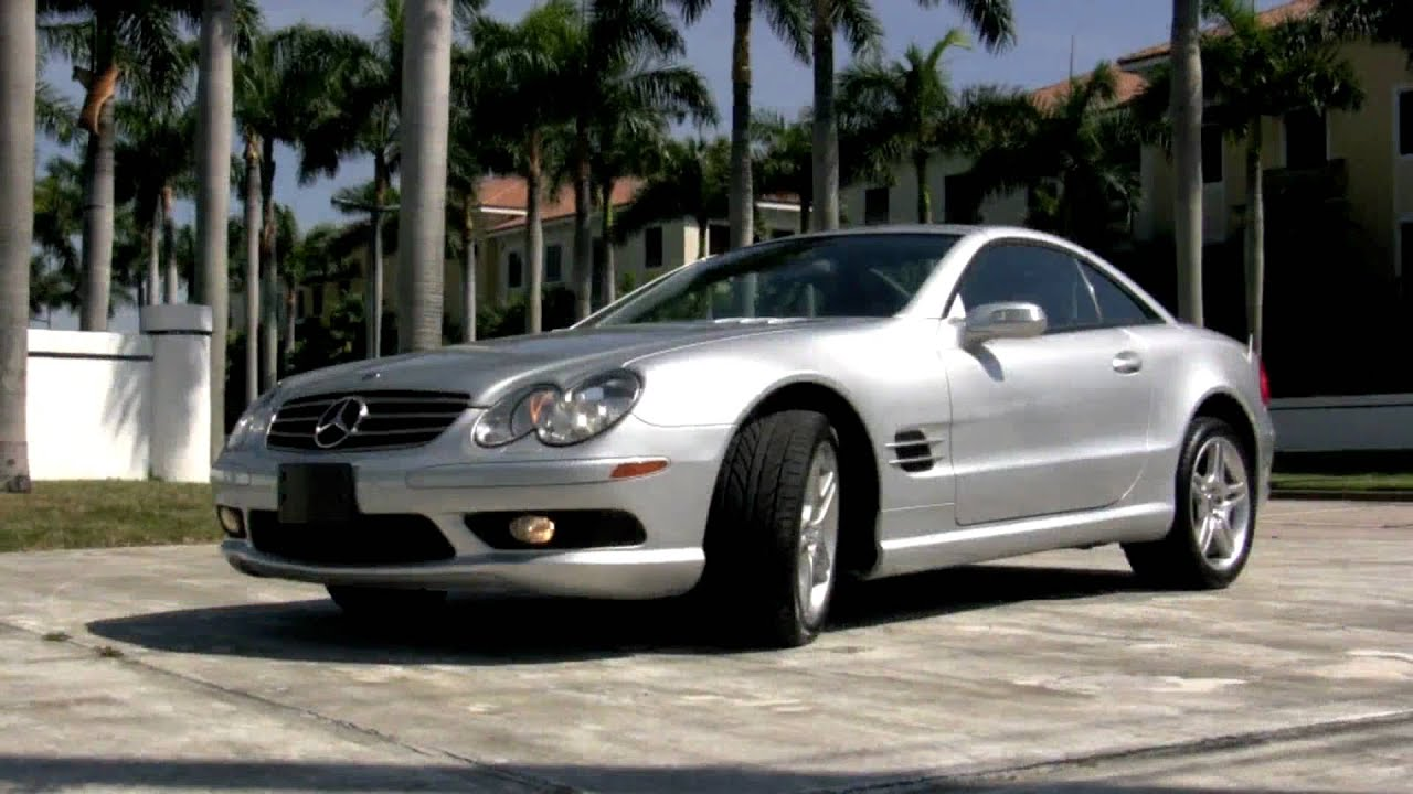 2006 mercedes benz sl500 silver a2541 youtube for 2006 mercedes benz sl500