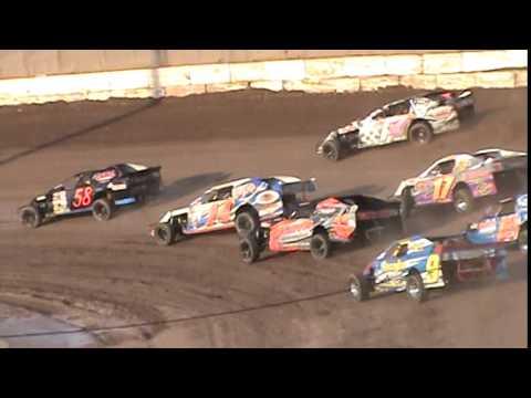 IMCA Sportmod Heat 1 Seymour Speedway 8/16/15
