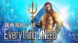 Gambar cover 【水行俠】片尾歌曲 Skylar Grey - Everything I Need 中英歌詞 #水行俠 #海王