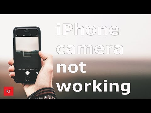 iPhone camera not working black screen