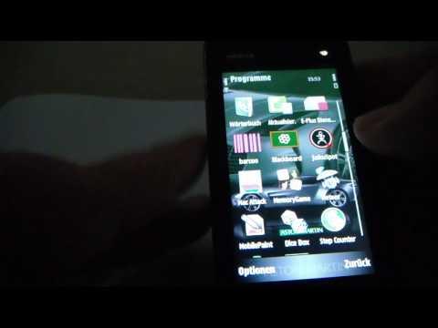 Nokia 5800 Xpress Musik  Diverse Themenbilder und Softwareversionen in 6 Teilen  Nr.2