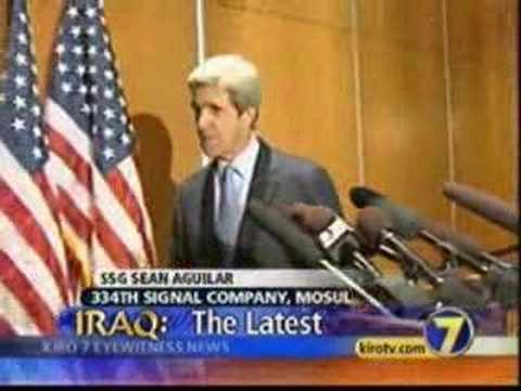 U.S. Soldier in Iraq offended by John Kerry