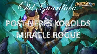 Experimenting with Miracle Rogue (Hearthstone Kobolds and Catacombs post-nerfs deck)