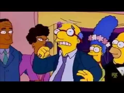 Los Simpson- Tu cárcel de los Bukis