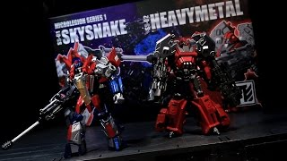Shapeshift Inc SS-01 Skysnake and SS-02 Heavymetal - Vangelus Review 283
