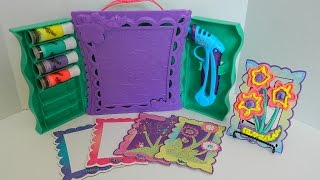 Play-doh Doh Vinci Art Studio Playdoh Toy Review