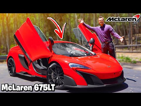 McLaren 675LT Review And Test Drive (The First Super Series Long Tail 1 Of 500!!)