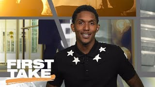 Lou Williams Joins First Take | First Take | June 26, 2017