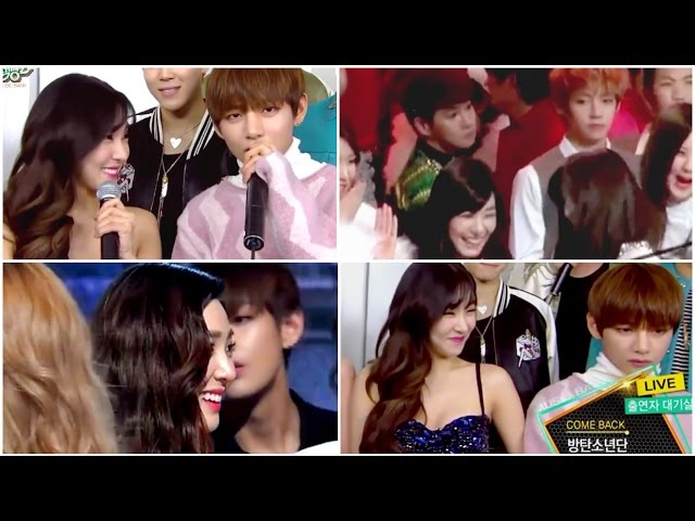 vfany moments ❀ step by step (bts taehyung & snsd tiffany)