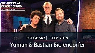 Pierre M. Krause Show vom 11.06.2019 mit Pierre M., Bastian und Yuman