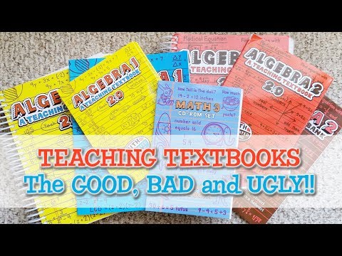 Teaching Textbooks Review: the Good, the Bad and the Ugly