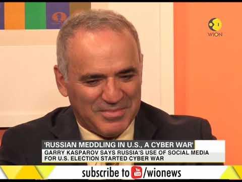 'Russian meddling in U.S., a cyber war'