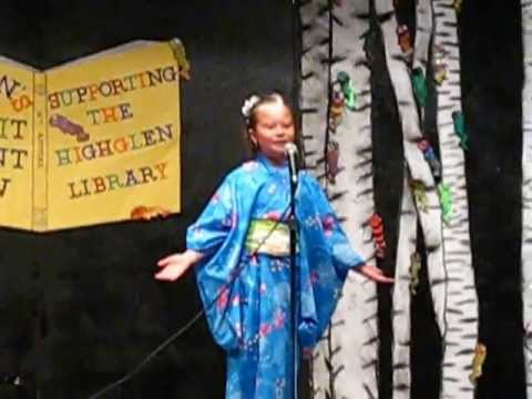 Under the spreading chestnut tree : 大きな栗の木の下で at Quinson Elementary