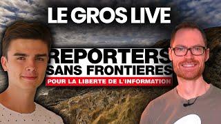 LA LIBERTÉ DE LA PRESSE EN DANGER EN FRANCE ? ft. Captain Popcorn et Reporters sans Frontières thumbnail
